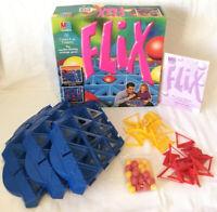 Flix Board Game 1994 MB Milton Bradley Complete