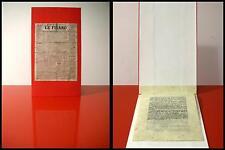 Futurist Manifesto Futurist 1909 book of Artist Edition NOT FOR SALE