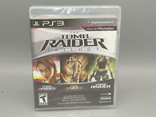 Tomb Raider Trilogy Playstation 3 (Ps3) *Brand New* Factory Sealed!