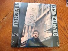 DENNIS DE YOUNG BACK TO THE WORLD ORIGINAL 1986 LP SEALED MINT STYX