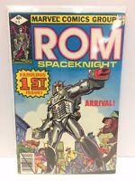 ROM Spaceknight #1 Comic Book Marvel 1979