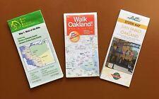 Bike/Walk/Public Transit Maps for Oakland/East Bay