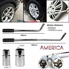 Carbon Steel Adjustable L Type Wheel Telescopic Extendable Lug Wrench for Cars