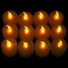 Smart Bright White Led Tea Lights Candles Realistic Battery Flameless Tealights