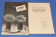 Illums Bolighus Danish Danish Modern Catalog - 1958 w/Translation Booklet