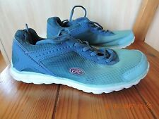 Rawlings Memory Form w/Coolflo System Women's green to blue running shoes 7.5