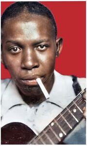 Robert Johnson Rare Photograph 11 X 17 - Color Portrait - Photo Poster Print