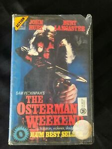 THE OSTERMAN WEEKEND VHS RARE