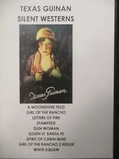 Texas Guinan Silent Westerns  9 silent films