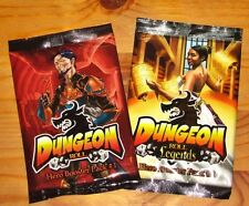 DUNGEON ROLL HERO PACK#1 & LEGENDS: HERO BOOSTER PACK#2 EXP Game NEW/FREE SHIP!