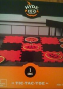 Halloween Pumpkin Tic Tac Toe Party Game - 19 Pieces Hyde and Eek! Boutique NEW