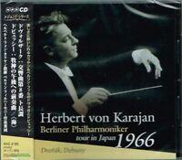 Dvorak Debussy Karajan & Berliner Philharmoniker tour in Japan 1966 CD w/OBI NEW