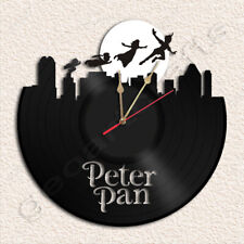 Peter Pan Record Clock Upcycled Gift Idea
