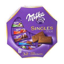 Milka Singles Assorted Mix Mini Chocolate Bars Serving Gift Box 147g
