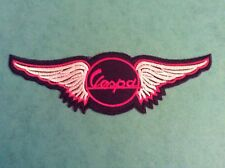 Vespa Wings Sew/iron On Patch scooter/Rally/mod/PX/skinhead/ska/soul/logo/T5/GTS