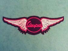 Vespa Wings Sew/iron On Patch scooter/Rally/mod/PX/skinhead/ska/soul/logo/T5/GTS