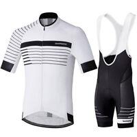 Mens Cycling Short Jersey Top Bib Bicycle MTB Bike Motocross Shirt Ride Clothing