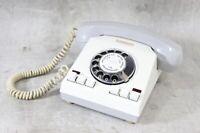 altes Telefon grau Wählscheibe RFT GDR Typ 020-00001