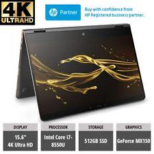 HP Spectre x360 15-bl100na 4K 2-In-1 LAPTOP i7-8550U 512GB SSD GeForce MX150