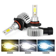 LED 9005 HB3 Headlight Conversion Kit Driving Light Bulbs Fog 6000K White Lamps