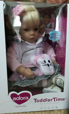 """Adora Doll Baby """"The Cat's Meow"""" Toddler Time 20"""" realistic Handmade Feature NIB"""