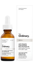 The Ordinary 100% Organic Cold-Pressed Rose Hip Seed Oil 30ml (Free sample gift)