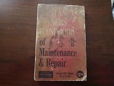 Mustang Owners Handbook of Maintenance 1963-'65 Floyd Clymer