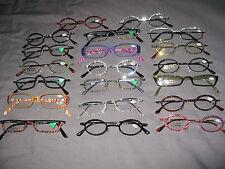 Made with Swarovski Crystal Jeweled Reading Glasses +2.25 Bling Frames Lense NEW