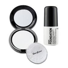 Stargazer - White Pressed Powder Compact + White Liquid Foundation Halloween