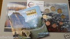 2015 8 monete fdc 3,88 EURO Grecia greece grece Griechenland epeiros epirus