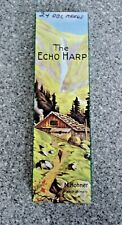 "M. HOHNER ""The ECHO HARP"" 57/120 Keys C/G Double Sided Harmonica Germany 8.25"""