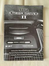 Sega Mega Drive 2 II Manual For Mega Drive II Console (FAST AND FREE SHIPPING )