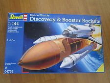 REVELL 04736 1:144 SPACE SHUTTLE DISCOVERY & BOOSTER ROCKETS KIT RAZZO SPAZIO