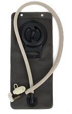 "Hydration Bladder Backpacks 2.5 Liter Tan Tube Drip Proof Bite Mouth Pc 42"" Hose"