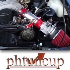 fit 1991-1995 NISSAN PATHFINDER LE SE XE 3.0 3.0L V6 RAM AIR INTAKE KIT RED