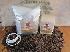 Organic Whole Bean Roasted Coffee Dark and Light Blend Coffee Beans - 5 lbs.