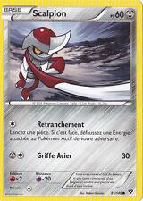 Scalpion - XY - 81/146 - Carte Pokemon Neuve - Française