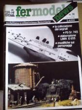 Fermodel News 16 1983 Elaborare treno LIMA E 633