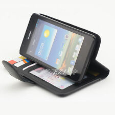 Durable Credit Wallet Leather Case Cover For Huawei Ascend G510