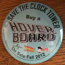 Sdcc 2012 Back To The Future 3 1/2 Inch Button From Mattel Booth Hover Board !