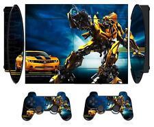 Transformers 03 Skin Sticker PS3 PlayStation 3 Super Slim and 2 controller skins