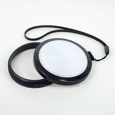 52mm White Balance Lens Cap For SLR/DSLR/DC/DV 52 mm