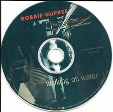 ROBBIE DUPREE Walking on Water w/ RARE EDIT w/ NILE RODGERS PROMO DJ CD single