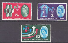 GB 1962  National Productivity Year SG 631 - 633 M/M