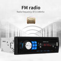 1 Din In Dash Car Player Bluetooth USB MP3 Stereo Audio Receiver FM Radio