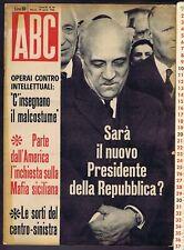 ABC N. 18, 1962 – Raoul SALAN, Hannes KELLER,  Claudia CARDINALE, Carlos ORTIZ