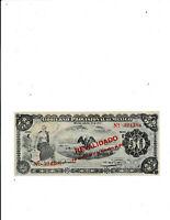 Mexico 50 Pesos 1914 Unc