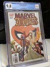 CGC 9.8 Marvel Zombies # 5 Amazing Spider-Man Annual 21 Cover Swipe