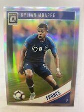 2018/19 Donruss Soccer Kylian Mbappe Optic Holo Prizm France #132