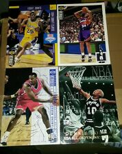 NBA carte card basket lot Dennis Rodman,Charles Barkley,Eddie Jones ,carte signé
